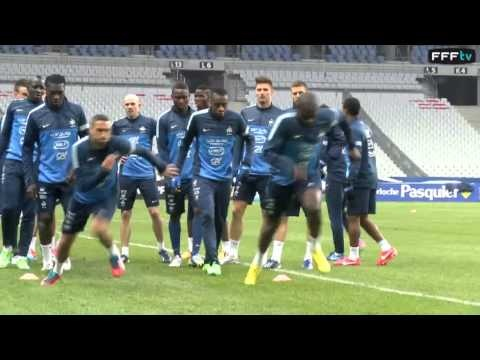 FOOTBALL -  France - Géorgie. Entraînement au Stade de France - http://lefootball.fr/france-georgie-entrainement-au-stade-de-france/