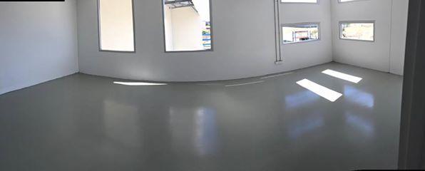 new workshop floor