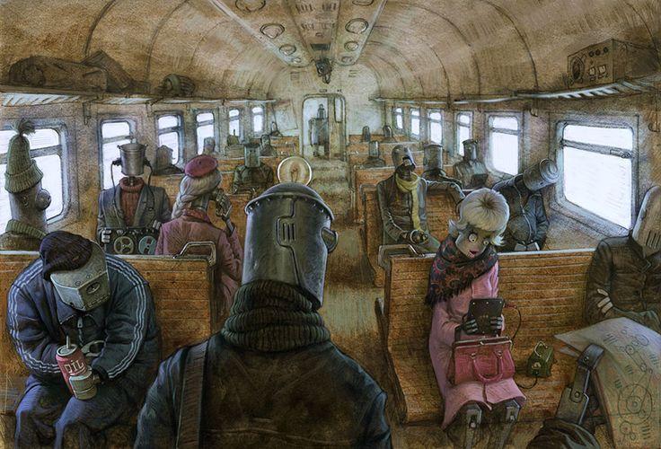 Dark and Controversial Digital Illustrations by Russian Artist   artFido's Blog