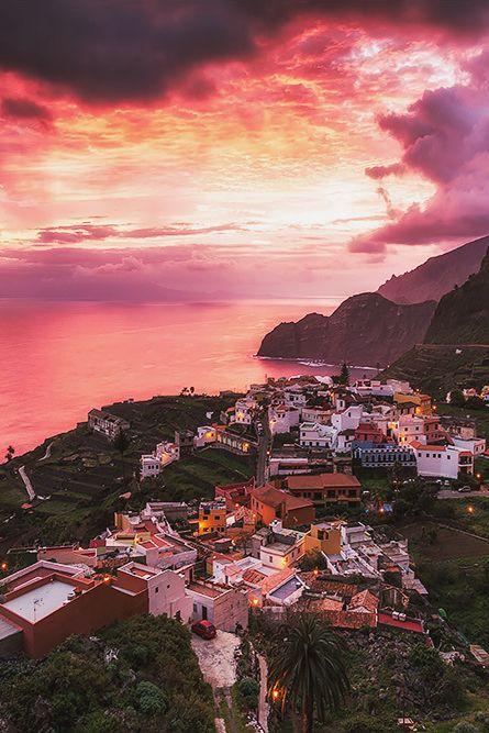 La Gomera Sunrise. Canary Islands. Spain