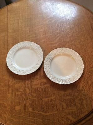 Wedgwood Embossed Queensware shell edgeTWO 6 1/4  bread plates ivy leaves AS IS & 60 best Wedgwood for Sale images on Pinterest | China china China ...