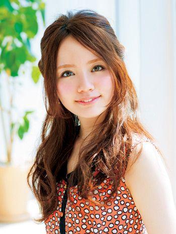ツイストハーフアップでモテヘアアレンジの完成☆ミディアムカットでもできる髪型♡
