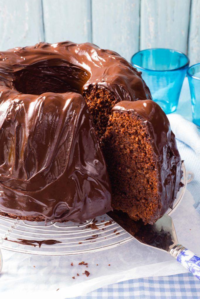 Thermomix Chocolate Ganache Cake