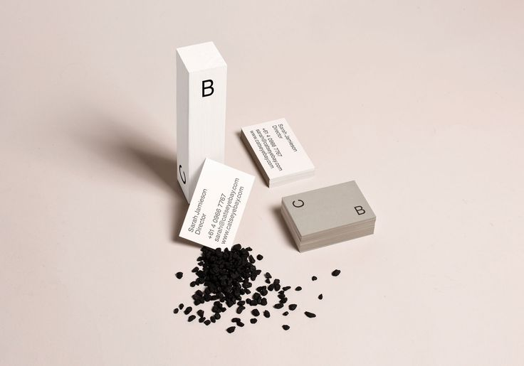 Brand identity for Sydney based spatial design studio Catseye Bay by SP–GD.