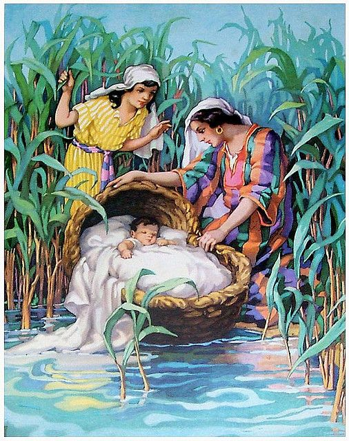 33 best bible study prints images on pinterest bible pictures discovering moses in bulrushes flickr photo sharing fandeluxe Image collections