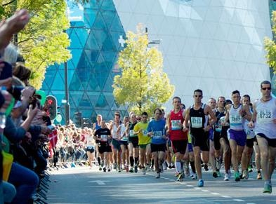passage 'glazen druppel' in Eindhoven marathon (2005 - 3:50u)