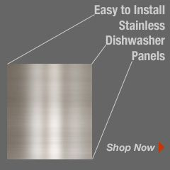 Shop for Stainless Dishwasher Panels