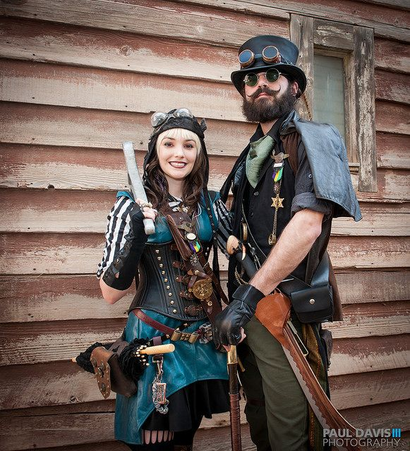 34 best steampunk couples images on pinterest steampunk clothing steampunk fashion and. Black Bedroom Furniture Sets. Home Design Ideas