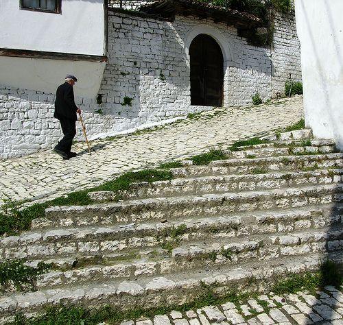 Berat, Albania.  http://www.worldheritagesite.org/sites/gjirokastra.html