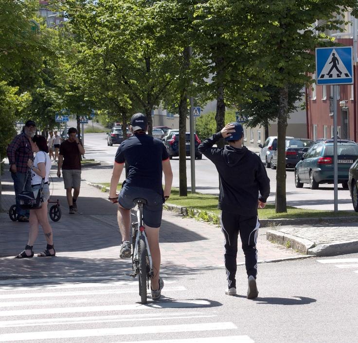 Folk på stan