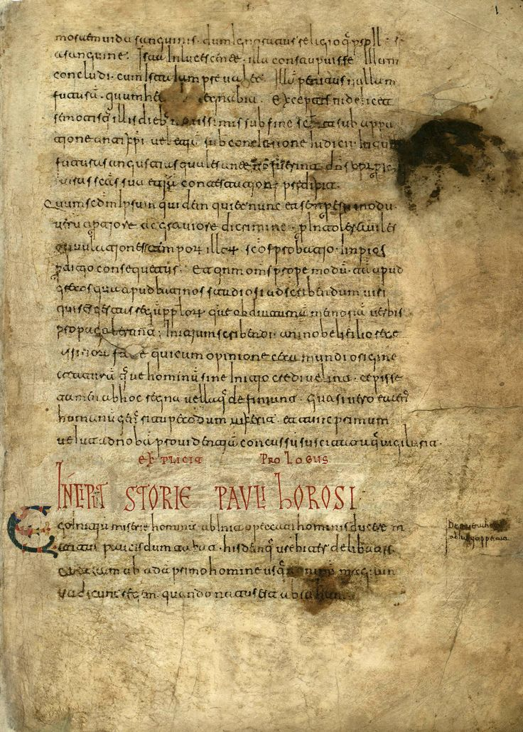 Visigothic script in the late 10th century Roda Codex, an important source for details of the 9th century Kingdom of Navarre and neighbouring principalities, also contains copies of well-known ancient and medieval histories.c