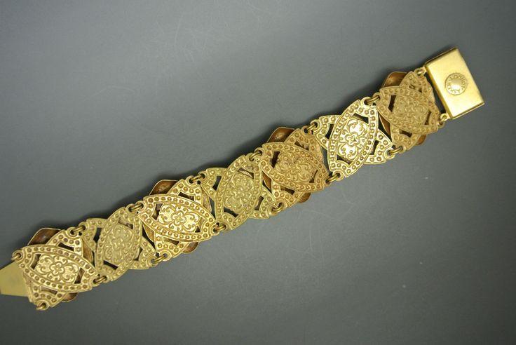 Askew London Elephant Lapis Glass Gold Plated Bracelet | eBay