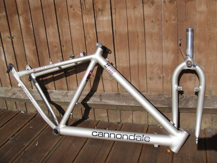 #1992 Cannondale M1000 retro mountain bike frame and forks Like, Repin, Share, Follow Me! Thanks!