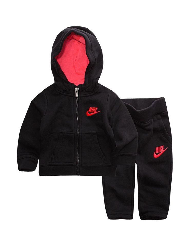 Nike 2-pc. Futura Fleece Hoodie & Pants Set - Baby 12-24 Mos. | Stage Stores #Childrenclothingboy #babyfleecehoodie