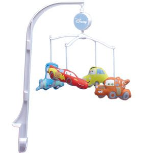 Disney Baby - Cars Junior Junction Crib Mobile- this is a maybe for me!!