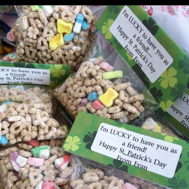 St Pattys Day classroom treats!