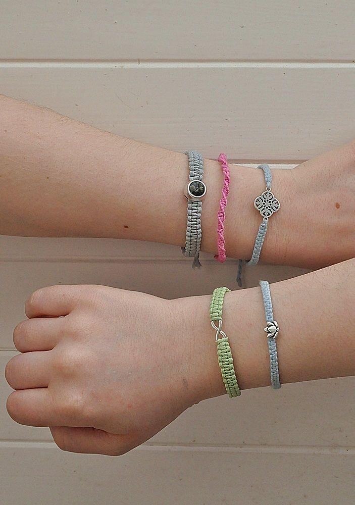DIY: Armbänder mit Makramee selber knoten *
