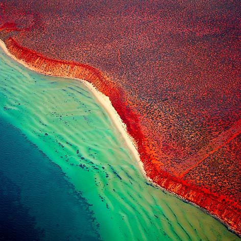 Shark Bay Western Australia, Inscribed as a World Heritage Site in 1991, the site covers an area of 2,200,902 hectares (5,438,550 acres).