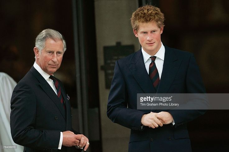 Prince Harry and Prince William attend the Service... - Prince Henry Updates