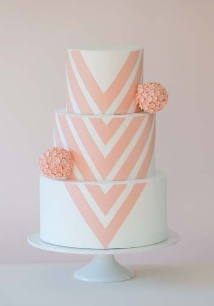 Simple Pretty Birthday Cakes