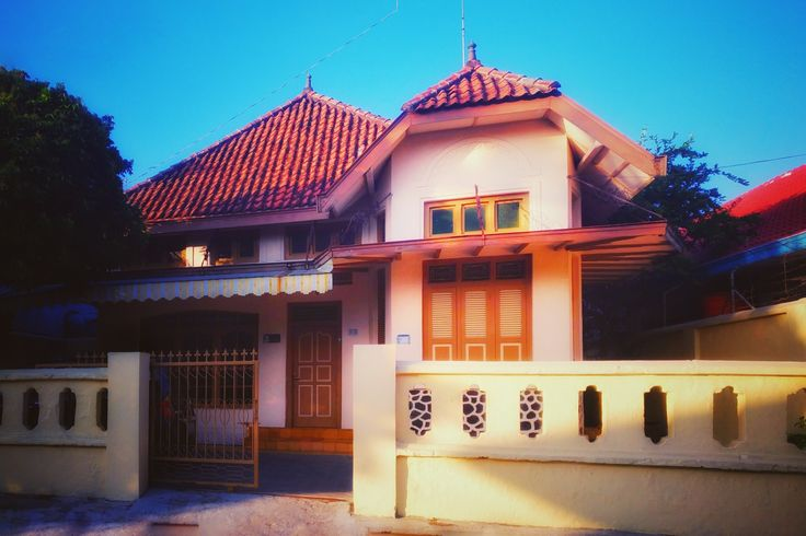 """RUMAH TUA"" #house of art deco #pekalongan, central java, Indonesia"
