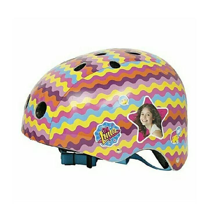 casco para patinar original con licencia soy luna disney!!!