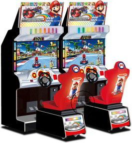 Mario Kart Arcade GP 2 DX Video Arcade Game | From Bandai Namco Games |   Get more information about this game at: http://www.bmigaming.com/games-catalog-namco.htm