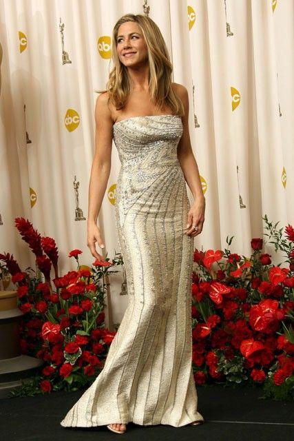 Jennifer Aniston - 50 Best Oscar Dresses - Marie Claire