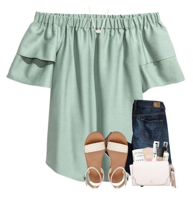 """""""I need prayers!! RTD!"""" by southerngirl03 ❤ liked on Polyvore featuring American Eagle Outfitters, Alicia Hannah Naomi, Herbivore, Maybelline, philosophy, NARS Cosmetics, Kate Spade and Kendra Scott"""