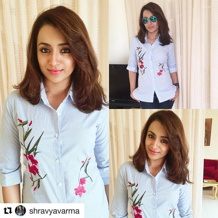 #Repost @shravyavarma with @repostapp ・・・ The girl with the face of a doll and heart of gold , Trisha Krishnan kept it casual but awesome that comes oh so naturally to her for lending her support to Meenakshi Mission Hospital for a charitable cause! ~~~~~~~~~~~~~~~~~~~~~~~~~ Huge shout out to the uber cooperative @srstore09 for this awesome collab week ! Looking forward for many more of these ❤️