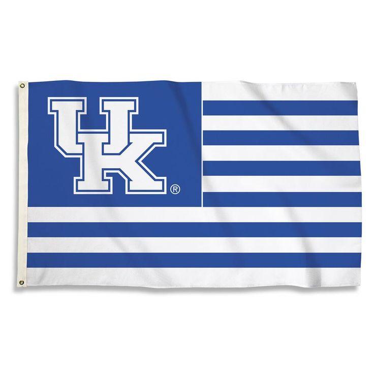 Kentucky Wildcats Stripe Flag