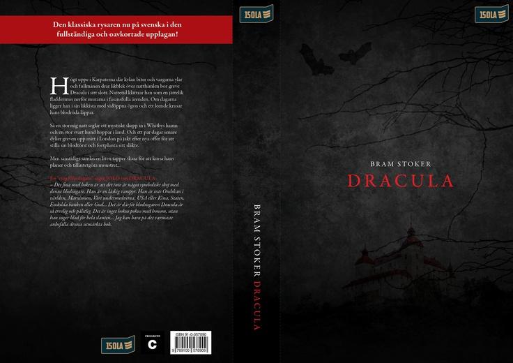 Book cover / School project / 'Dracula' / Stock: sxc.hu