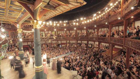 The modern version of The Globe. You might think being a groundling would be fun but buy the seat (and rent the cushion).