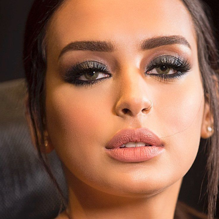 Image May Contain 1 Person Closeup Nose Ring Makeup Rings