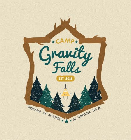 Camp Gravity Falls Buy this shirt to prevent the Weirdmageddon. Sizes go up to 3XL! #GravityFalls