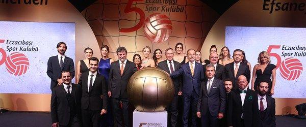 Eczacıbaşı Spor Kulübü 50 yaşında