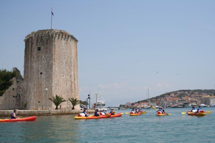 Kamerlengo tower in Trogir town, Croatia