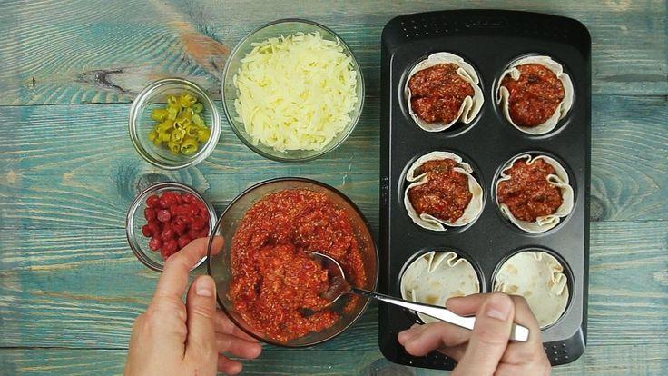 Мини-пиццы - Рецепты от Со Вкусом