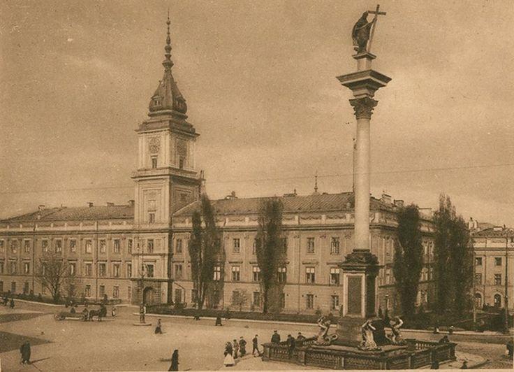 1915 - 1918 Plac Zamkowy.