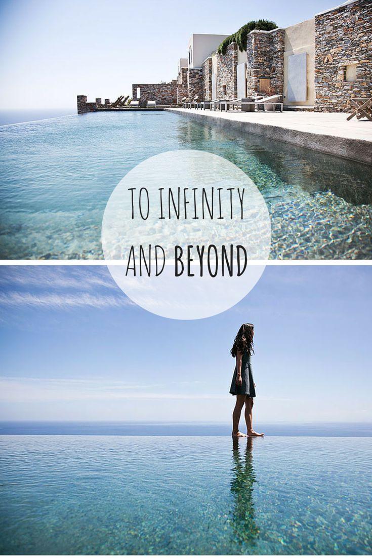 Infinity pool at Verina Sifnos Hotel, Greece #greekparadise #sifnosisland #infinitypool #greekholidays