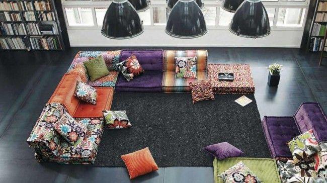 HappyModern.RU | Угловые диваны в гостиной: 55 решений для тех, кто выбирает комфорт и релаксацию | http://happymodern.ru