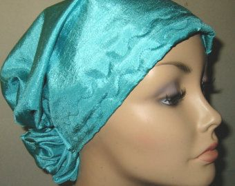 Items similar to Ivory Chemo Hat Alopecia Cancer Headwrap w Animal Print Scarf on Etsy