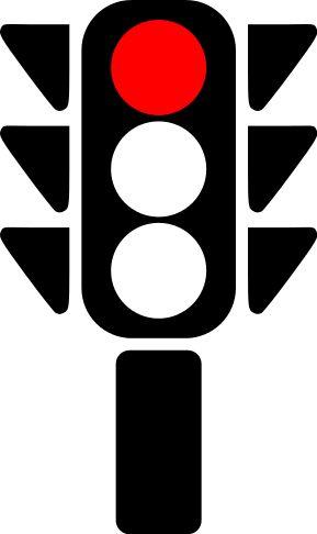 traffic light red