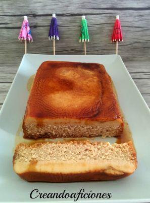 Flan de manzana en microondas en la Comunidad de Cocina - Hogarmania.com