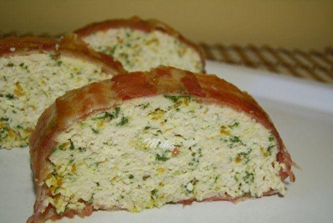 Retete Culinare - Drob de pui in bacon