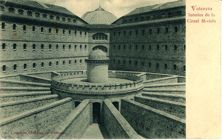 Interior de la Cárcel Modelo de Valencia