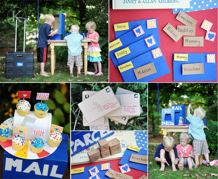 A gorgeous take on Post Office week with all kinds of fun activities.  From Katherine Marie Photography.