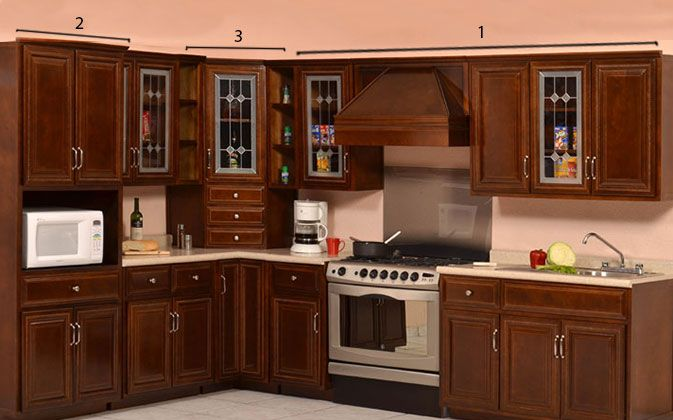 Kitchen cabinet colors with white countertops - About Muebles De Cocina On Pinterest Colors Originals And Photos Of