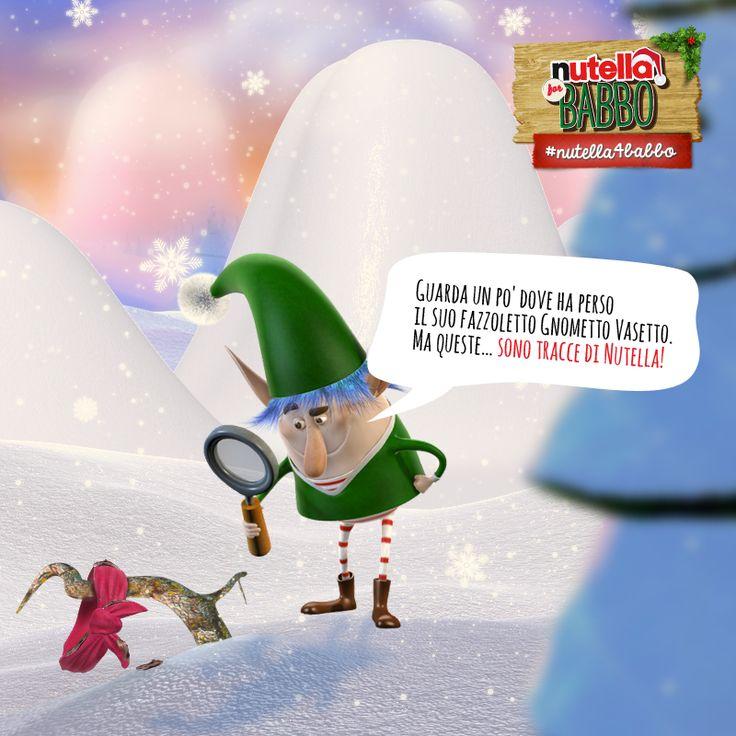 Elfo Spalmino, di ritorno a casa dalle Montagne Panettone, si imbatte per caso nel secondo indizio… Secondo voi chi sarà il prossimo indiziato?