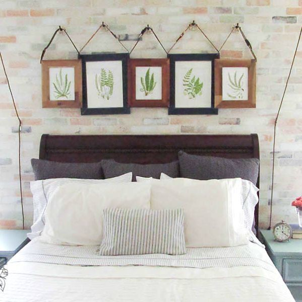 12 Crazy Creative Ways To Fill Your Empty Walls (On A Budget!)